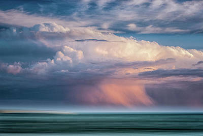 Storm On The Sound Art Print