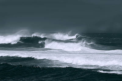 Photograph - Stormy Seas by John Orsbun