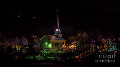 Photograph - Stowe Vermont by Scenic Vermont Photography