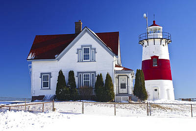Photograph - Stratford Point Light. Stratford, Connecticut. by New England Photography