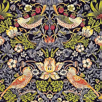 Painting - Strawberry Thief by William Morris