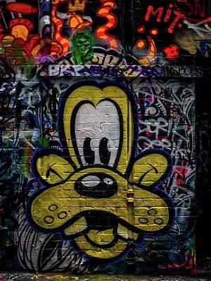 Painting - Street Art by Sheila Mcdonald