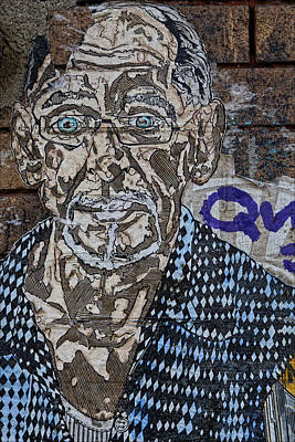 Celebrity Pop Art Potraits - Street Art Wiiliamsburg Brooklyn by Robert Ullmann