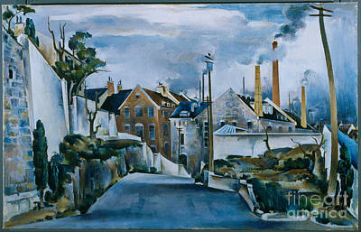 Quebec Streets Painting - Street In Quebec by Celestial Images