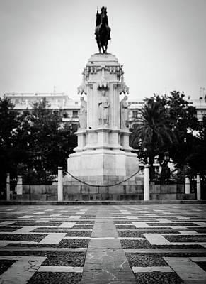 Photograph - Streets Of Seville - Plaza Nueva by Andrea Mazzocchetti