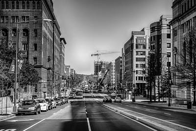Sean Rights Managed Images - Streets Of Washington Dc Royalty-Free Image by Alex Grichenko