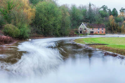 Floods Photograph - Sturminster Newton Mill - England by Joana Kruse