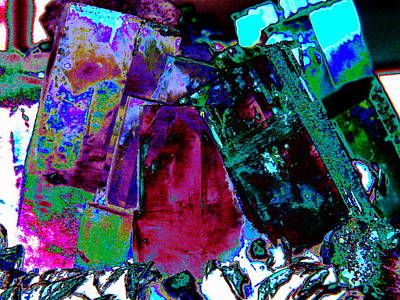 Barite Wall Art - Photograph - Sue's Crystals by Jerry Craven
