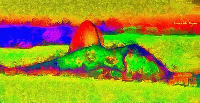 Rio De Janeiro Painting - Sugarloaf Of Rio 300 - Pa by Leonardo Digenio