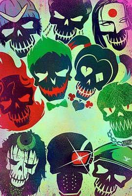 Suicide Squad 2016 Art Print