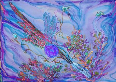 Sukkot-the Lulav Art Print by Sandrine Kespi