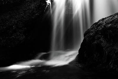 Photograph - Sum Waterfall In Vintgar Gorge by Ian Middleton