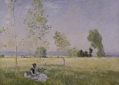 Etes Painting - Summer by Claude Monet