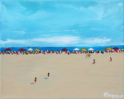 Painting - Summertime by Kume Bryant