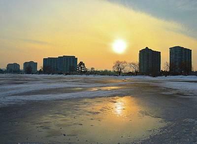 Digital Art - Sun And Ice  by Lyle Crump