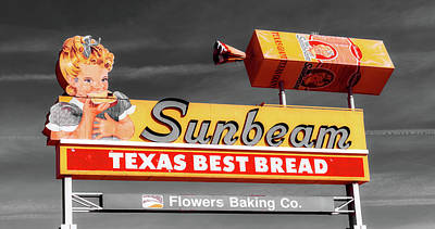 Sunbeam - Texas Best Bread Art Print