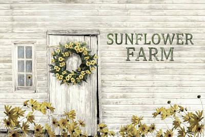 Photograph - Sunflower Farm by Lori Deiter