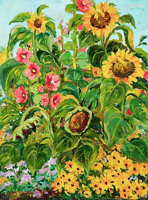 Painting - Sunflowers by Ingrid Dohm