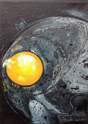 Painting - Sunny Side Up by T Fry-Green