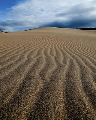 Photograph - Sunrise At Great Sand Sunes Np by John McArthur