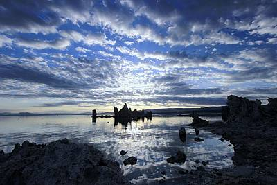 Photograph - Sunrise On Tufa by Sean Sarsfield