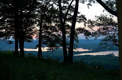 Wyalusing Photograph - Sunset At Wyalusing State Park by Clifton Facey