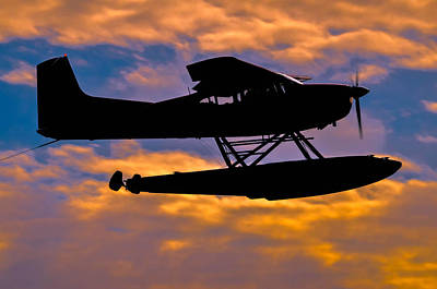 Photograph - Sunset Flight 2 by Brian Stevens
