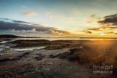 Photograph - Sunset by Gunnar Orn Arnason