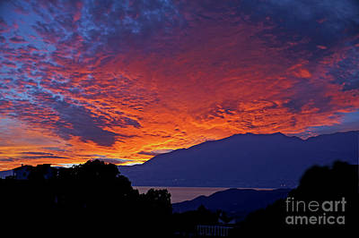 Photograph - Sunset In Andalucia by Rod Jones