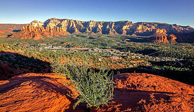 Photograph - Sunset In Sedona by Alexey Stiop