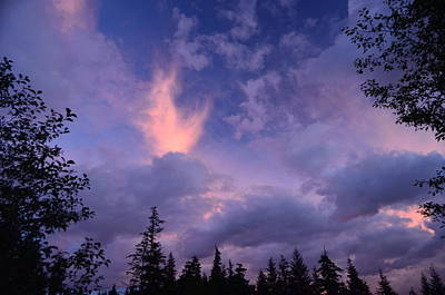 Photograph - Sunset by Larry Poulsen