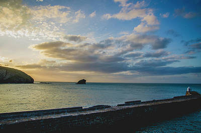 Photograph - Sunset Over Portreath by Edyta K Photography
