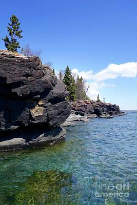 Photograph - Superior Shoreline by Sandra Updyke