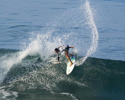 Surfer Girl Malia Manuel Print by Waterdancer