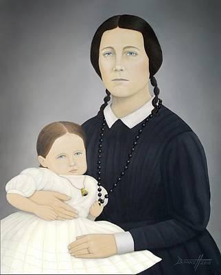 Umberto Boccioni Painting - Susanna Dickinson  by Mark Barnett