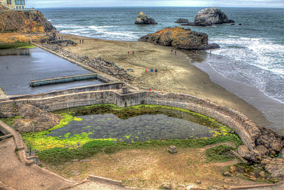 Beach Towns Photograph - Sutro Baths 3 by SC Heffner