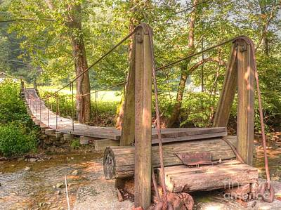 Photograph - Swinging Bridge by David Bearden
