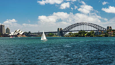 Photograph - Sydney Harbor by Walt Sterneman