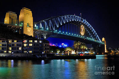 Photograph - Sydney Harbour Bridge by David Iori