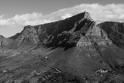 Photograph - Table Mountain - Cape Town by Aidan Moran