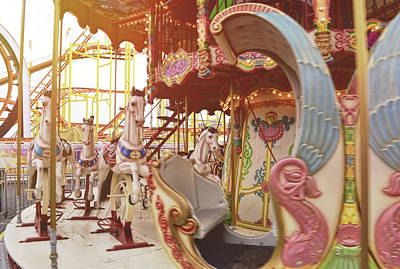 Photograph - Take A Carousel Spin by JAMART Photography