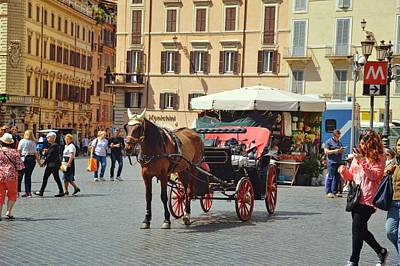 Photograph - Take A Tour Thru Rome by JAMART Photography