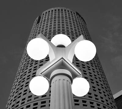 Photograph - Tampa Architecture by David Lee Thompson
