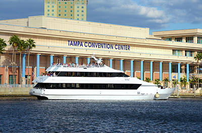 Photograph - Tampa Convention Center by David Lee Thompson