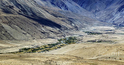 Pittsburgh According To Ron Magnes - Tangsey village landscape of Leh Ladakh Jammu and Kashmir India by Rudra Narayan  Mitra