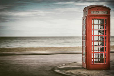 Photograph - Telephone Booth by Chevy Fleet