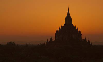 Temples Of Bagan Art Print by Arabesque Saraswathi