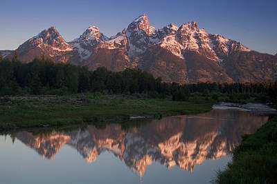 Teton Wall Art - Photograph - Teton Reflections by Andrew Soundarajan