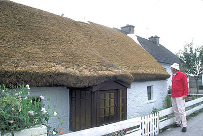 Landscapes Kadek Susanto - Thatch Cottage in Ireland by Carl Purcell