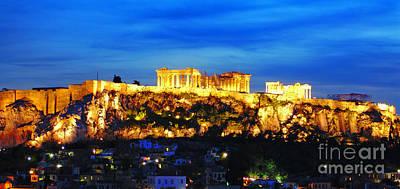 The Acropolis Of Athens Art Print